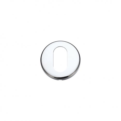 Zoo Hardware ZCZ003CP Oval Profile Escutcheon 52mm dia Polished Chrome