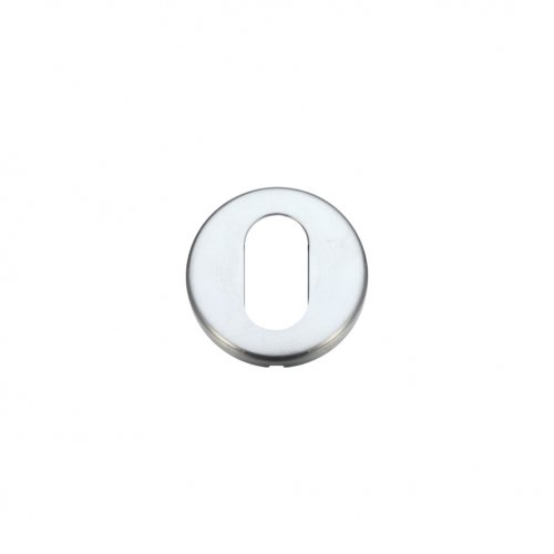 Zoo Hardware ZCZ003SC Oval Profile Escutcheon 52mm dia Satin Chrome