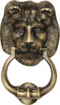 Heritage Brass K1210-AT Lion Knocker Antique finish