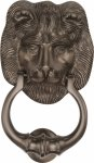 Heritage Brass K1210-MB Lion Knocker Matt Bronze finish