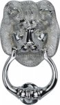 Heritage Brass K1210-PC Lion Knocker Polished Chrome finish