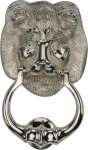 Heritage Brass K1210-PNF Lion Knocker Polished Nickel finish