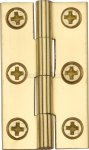 "Heritage Brass HG99-110-PB Cabinet Hinge Brass 1 1/2"" Polished Brass finish"